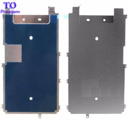 Backplate iphone online shopping - New LCD Metal Backplate Shield with Heat Dissipation Sticker Adhesive for iPhone S s plus Replacement Repair Parts