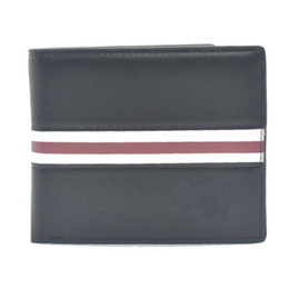 Chinese  New 2017 Luxury brands Blanc Mens Wallets Small Bifold Credit Card PU Leather Travel Purse High quality Wallet for Men Fashion Pocket A086 manufacturers