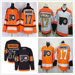acdaabe6 ... discount code for wholesale philadelphia flyers ice hockey jerseys 17  wayne simmonds jersey white black stadium