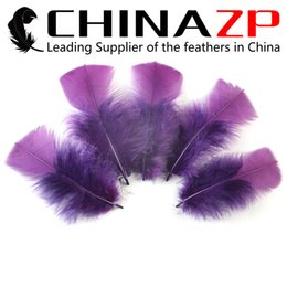 Led Costumes NZ - Leading Supplier CHINAZP Crafts Factory 500 pieces per lot Beautiful Decorative Plum Turkey Flat Plumage Feathers