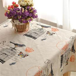 $enCountryForm.capitalKeyWord NZ - BZ316 High-grade old fashion cotton cloth zakka retro art coffee table cloth table cloth coffee bar linen tablecloths