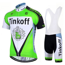 Discount jersey cycling saxo green - 2017 NEW team tinkoff saxo pro cycling jerseys short-sleeve summer Quick-Dry Racing Bicycle ropa ciclismo cycling clothi