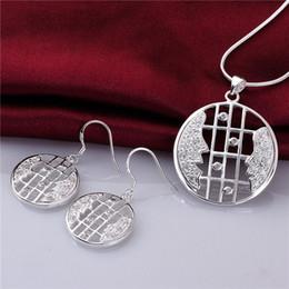 $enCountryForm.capitalKeyWord NZ - best gift Couple silver plated jewelry sets for women WS768,popular 925 silver necklace bracelet jewelry set