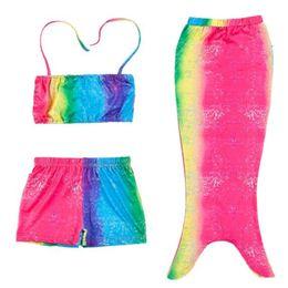 DHL Mermaid Swimwear Bikini Swim 3PCS SET Girls Kids Mermaid Tail Swimmable Bikini Set Girl Swimsuits Swimming Costumes  sc 1 st  DHgate.com & Shop Swimmable Mermaid Costume UK | Swimmable Mermaid Costume free ...