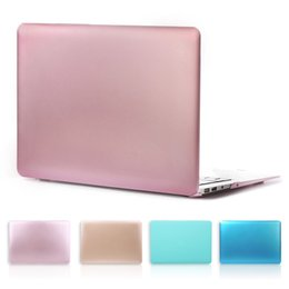 Discount coloured laptops - Metal Colour Sprayed Hard Case Cover for Macbook Pro 13 W out Touch Bar A1706 A1708 Pro 13.3 Air 15.4 Retina