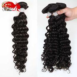 $enCountryForm.capitalKeyWord Canada - Hannah product Peerless Indian Virgin Hair Deep Wave 3 Bundles Virgin Indian Deep Curly Hair Raw Unprocessed Virgin Human Hair Extensions