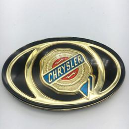Venta al por mayor de 1 unids Para Chrysler 300C Mopar Parrilla Delantera Parrilla Bonete Auto Oro Dorado Insignia de Acrílico Etiqueta Personalizada Headhead Logo