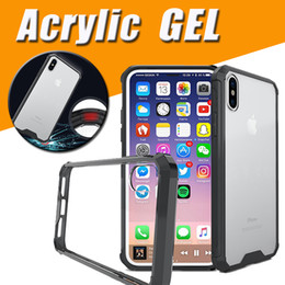 $enCountryForm.capitalKeyWord NZ - Air Cushion Acrylic Shockproof Crystal Transparent Clear Frame Cover Case For iPhone XS Max XR X 8 Plus 7 6 Samsung Galaxy S9 S8 S7 Note A8