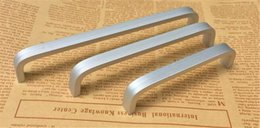 Chinese  New aluminum Alloy Home Furniture Hardware Kitchen Drawer Pull Knob Silver Cabinet Wardrobe closet T bar Handle manufacturers