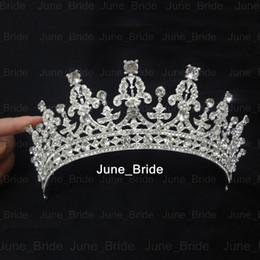 $enCountryForm.capitalKeyWord NZ - Real Photo Princess Vintage Crystal Rhinestone Bridal Jewellery Wedding Tiara Wedding Bride Hair Crown Party Crown Bridal Jewelry Accessory
