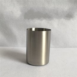 $enCountryForm.capitalKeyWord NZ - 6 5sh Stainless Steel Beer Cups Small Straight Body Saka Mug Solid Couple Rinse Cup Durable Mugs Classical For Home R