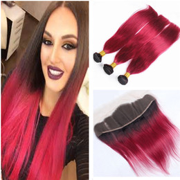 Bright color hair extensions australia new featured bright color bright red human hair bundles with lace frontal closure brazilian human virgin straight hair extensions with lace frontal ombre red hair pmusecretfo Gallery
