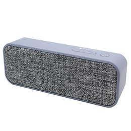 $enCountryForm.capitalKeyWord Canada - New hot Brick-shaped Fabric art Portable Bluetooth Speaker Wireless Speakers Subwoofer Loudspeakers