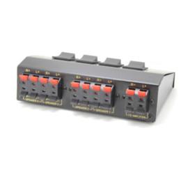 $enCountryForm.capitalKeyWord NZ - NEW 4 Speaker Selector Switch Switcher Splitter 200Watt wholesale switch simple splitter hdmi 2 ports