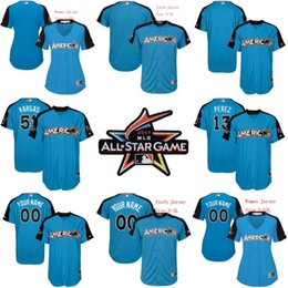 ad6ba31186f 2017 all star game jersey american league 13 salvador perez 51 jason vargas  Royals 40 Kelvin Herrera WhitePink Fashion Womens Stitched ...