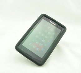 H Case Canada - MingShore silicone rugged case for Lenovo A7-50 A3500-H V 7 inch tablet Cover