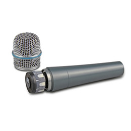 microphones beta Canada - Top quality Capsule Heavy Body for Resell BETA57 Beta 57A Clear Sound Handheld Wired Microphone Mic