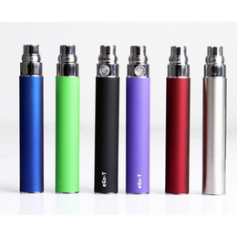 Cheap Ego T Batteries Australia - Cheap Ego-T Battery Electronic Cigarette for CE4 CE5 CE6 clearomizer 510 thread 650 900 1100mah ego t battery DHL free
