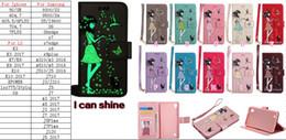 glow dark case 2019 - Luminous Glow In Dark Flower PU Leather Wallet Case For Iphone X 8 7 Plus 6 6S SE 5 5S Galaxy S9 Plus Flip Cover Pouch B