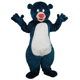 Barato Trajes De Personagens Azuis-Blue Big Bear Personagem de desenho animado mascote Custom Products Custom-Made Free Shipping