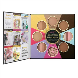 famous brand 8 colors too face the little black book of bronzers blush cheek face powder palette highlighters contour professional makeup