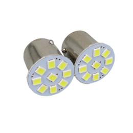 Rv paRking online shopping - White Led SMD Car Light External Lights Car Truck Trailer RV Brake Reverse Backup Lights Turn Signal Lamp Bulb V