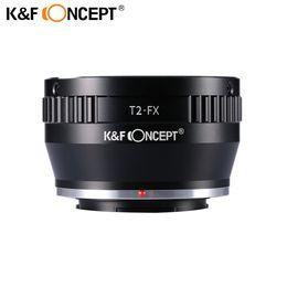 Telescope adjusTable online shopping - K F CONCEPT Lens Mount Adapter Ring for Adjustable Copper T2 T Telescope Lens to Fujifilm FX Mount Adapter DSLR Camera Body