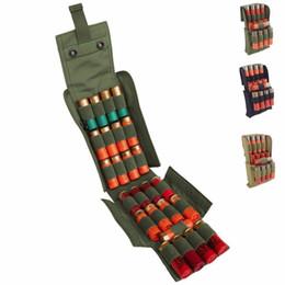 Venta al por mayor de Bolsas tácticas de MOLLE PALS 25, redondas, de calibre 12, escopeta, cargador de la revista
