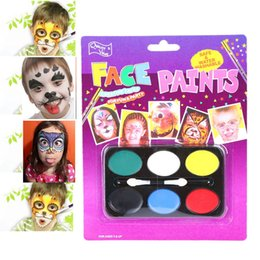 $enCountryForm.capitalKeyWord NZ - Body Paint Lovely Children Festival Face Painting Craft Face Deco Kids Party Makeup Best Gift for Children