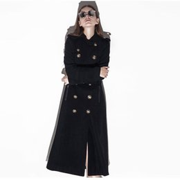 Discount Long Military Style Coats Women | 2017 Long Military ...