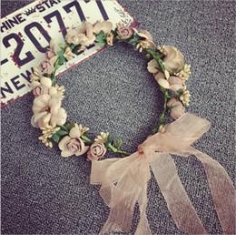 $enCountryForm.capitalKeyWord Canada - 1ps Rattan Artificial Berries Flower Headpiece Headband Hairband Head Wreath DIY Floral Bridal Garland Crown Halo Wedding Hair Accessories