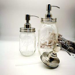 Опт 25 компл. DIY Мейсон банку дозатор мыла насос крышка и воротник для Мейсон жидкий лосьон насос (не включая банку)