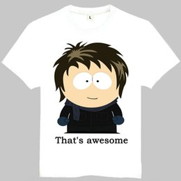 c4a8d544 Kenny McCormick t shirt South Park short sleeve gown Fun cartoon tees  Leisure unisex clothing Quality cotton Tshirt
