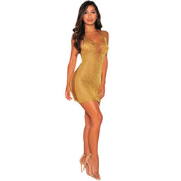$enCountryForm.capitalKeyWord Canada - Sexy Crochet Women Mini Casual Dresses 2017 Sexy Summer Casual Dresses Rose Golden V Neck Night Out Clubwear Party Dresses Bech Sundress