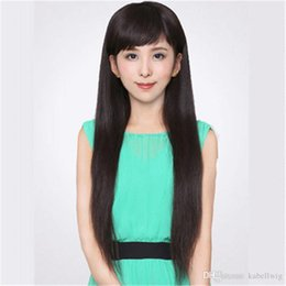 Medium Degree NZ - Straight Degrees In The FULL LACE WIGS Original Smooth Glueless Wig LACES Wigs, Human Hair 100% Brazil Black Women Weaving Wig Full Lace Wig