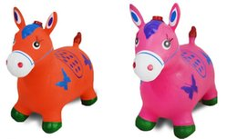 $enCountryForm.capitalKeyWord NZ - Children's inflatable toys jumping Maccabees thick increase environmental music horse riding inflatable baby horse free shipping environment