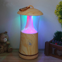 $enCountryForm.capitalKeyWord Canada - Creative Colorful Wood Grain Small Touch Night Light Portable USB Flash Lamp Camping Outdoor LED Lights ZJ0390
