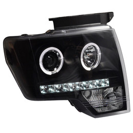 Wholesale FOR Xiushan dedicated to the Ford Raptor F150 lens LED angel eye with modified headlight assembly 08-12