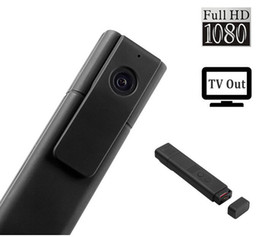 Venta al por mayor de T189 Lente de 8 MP Full HD 1080P Mini Pen Grabadora de voz / Grabadora de cámara de video digital Salida de TV portátil Pocket Pen Cámara