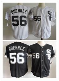 throwback 56 mark buehrle jersey team black white pinstripe chicago white sox mark buehrle baseball vintage