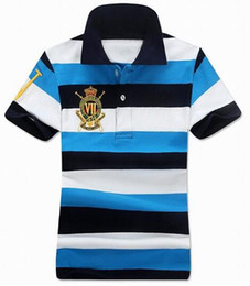 $enCountryForm.capitalKeyWord Canada - Top Quality US 2017 Women Striped Polo Shirt Big Horse Short-Sleeve Polo shirt Grils Polos Homme Mens Camisas Ladies Polo Shirts