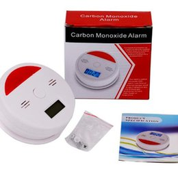 monoxide tester 2019 - New JKD-601 Immediate Home USE LCD CO Carbon monoxide Tester Alarm Poisoning Sensor alarm Warning Detector Test 60pcs lo