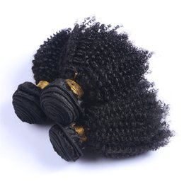 Chinese  Wholesale Price Brazilian Hair Weaves Afro Kinky Curly 3PCS lot Malaysian Hair Bundles Mongolian Indian Human Hair Wefts Free Shipping manufacturers
