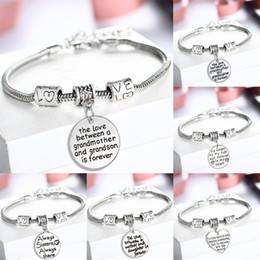 $enCountryForm.capitalKeyWord Australia - hot wholesale silver color vintage rhinestone love heart bracelet Sister love forever gift bracelet wholesale women bracelet