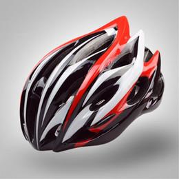 Super light road bike helmetS online shopping - New Super Light Cycling Helmet Ultralight Bike Bicycle Helmet In mold MTB Casco Ciclismo Road Mountain Riding Sports Helmet