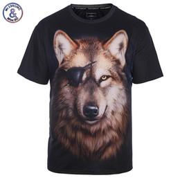 a3377e3fd8d5 x201710 Mr.1991INC Brand T-shirt Men Women Fashion 3d T-shirt Print One Eye Wolf  T shirt Summer Tops Tees