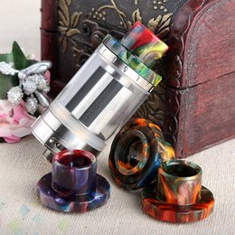 ElEctronic cigarEttEs atomizErs bEst quality online shopping - Epoxy Resin Drip Tips For Cleito Atomizer Tank Best Cleito Mouthpiece Colorful High quality Electronic Cigarette DHL Free