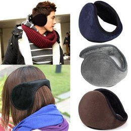 $enCountryForm.capitalKeyWord Canada - New Arrival Unisex Colorful Winter Fleece Warmer Earmuff Fashion Plush Cloth Ear Muffs For Men Women Accessories TO323