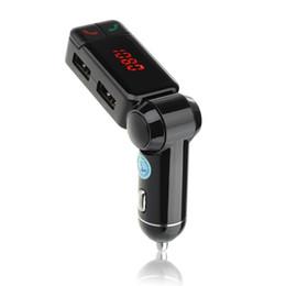 $enCountryForm.capitalKeyWord Australia - Car Audio Bluetooth Fm Transmitter Mp3 Player Handsfree Car Kit Dual Usb Charger For Car Stereos