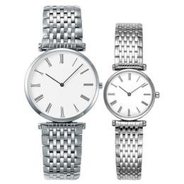 Blue geneva watch online shopping - Geneva Brand Sapphire Women Watch Silver Gold Stainless Steel Band Elegant Lady Business Quartz Wristwatch Fashion Simple Ultrathin Watches